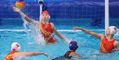 Kínai győzelem a magyar női vízilabda-válogatott csoportjában