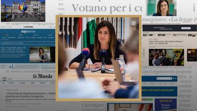 Varga Judit (Facebook): Repedezik a brüsszeli buborék