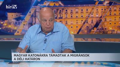 Nógrádi György: Ebbe az országba az jöhet be, akit mi engedünk, nem az, aki akar