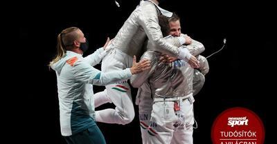 Tokió 2020: így szerzett bronzot a magyar kardcsapat – képek