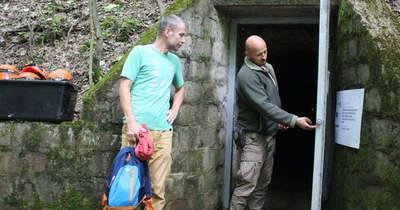 Heves megye egyetlen cseppkőbarlangjában külön ajtaja van a denevéreknek