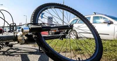 Elütöttek egy kerékpárost Zalaegerszegen
