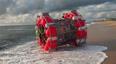 Sokkot kaptak a strandolók: Hátborzongató dolgot sodort partra a víz, egy ember volt benne
