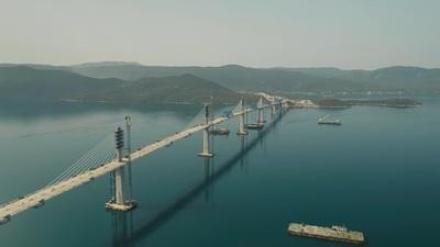 Elkészült a híd, amely két órával lerövidíti a Zágráb-Dubrovnik közti autóutat