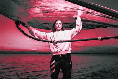 A szörfös Cholnoky a 25. helyen végzett
