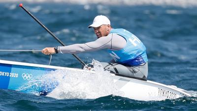 A vitorlázó Berecz hat futam után harmadik helyen áll a tokiói olimpián