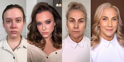 Egy jó smink csodákra képes: elképesztő fotók nőkről sminkelés előtt és után - Galéria