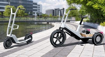 Ezt nem gondoltuk volna: rollert és triciklit tervezett a BMW