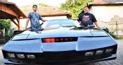 Kállai Ambrus megalkotta a Knight Rider sorozat beszélő autóját