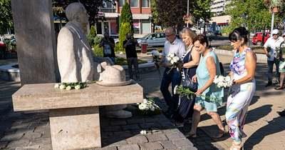 Dr. Förster Kálmánra, Salgótarján első polgármesterére emlékeztek