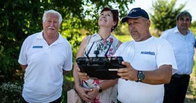 Drón segíti felvenni a harcot a parlagfűvel Nógrád megyében