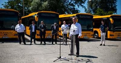 Fiatalodik a járműflotta: nyolc új autóbusz áll szolgálatba megyénkben