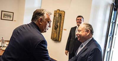 Schumacher régi főnökével tárgyalt Orbán Viktor