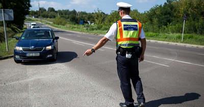 Túl sok volt a jogsi nélküli sofőr Heves megyében, keményen büntetik őket