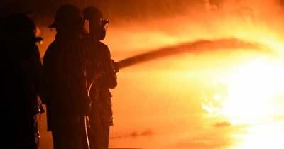 Hatszáz négyzetméteres magtárban ütött ki tűz Kömlődön