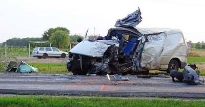 Halálos baleset: kamion és furgon karambolozott egymással Ceglédnél