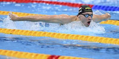 Milák Kristóf ezüstérmes 100 méteres pillangóúszásban