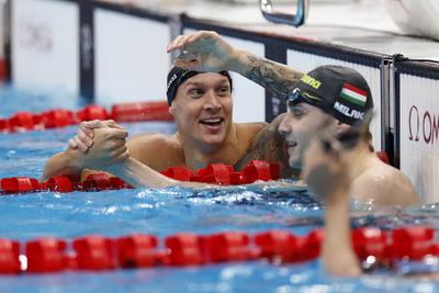 Nézze meg Milák Kristóf fantasztikus úszását
