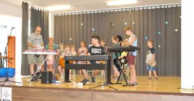 Neves zenésztől tanulhattak balassagyarmati táborozók