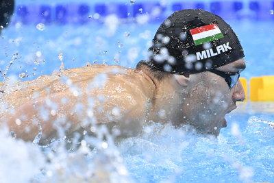 Minden várakozást felülmúlt a fantasztikusan úszó Milák Kristóf az edzője szerint