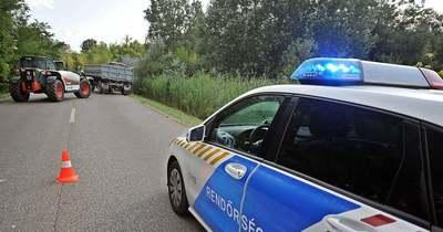 Traktorral ütközött össze egy autó Mórahalomnál