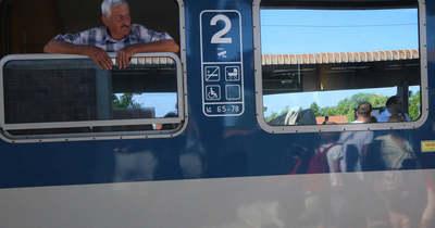 Késnek a vonatok az északi parton