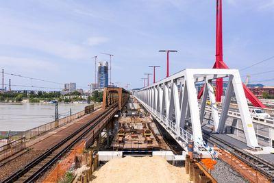 Kezdődik az új vasúti Duna-híd építése