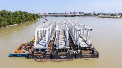 Kezdődik a második új vasúti Duna-híd építése Budapesten