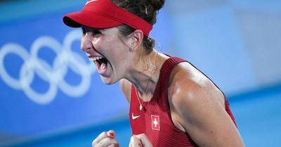 Tokió 2020: összejött a svájci teniszarany Federer távollétében is