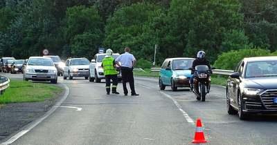 Nagyobb torlódás alakult ki Szentesnél egy baleset miatt – Fotók