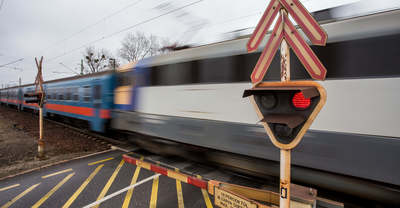 Gázolt a vonat Baltonberénynél