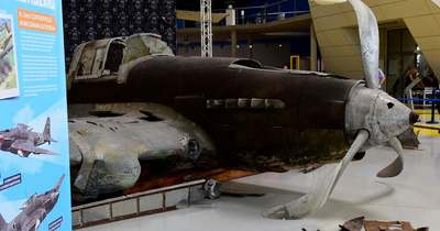 A balatoni hullámsírból kerültek elő a világháborús vadászrepülőgép maradványai