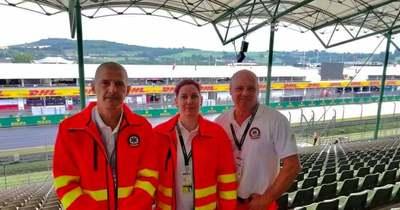 Forma-1: a szegedi mentők már készenlétben