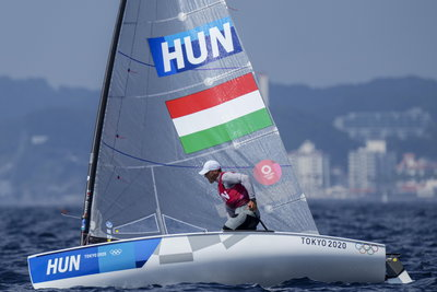 Így lehet olimpiai bajnok a vitorlázó Berecz Zsombor