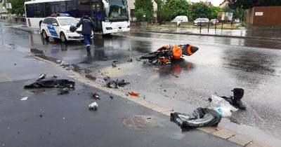 Megrázó képek érkeztek a brutális motoros balesetről