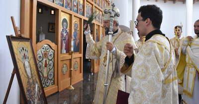 Megszentelték a Szent Piroskát ábrázoló ikont Szolnokon