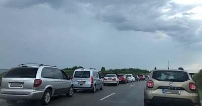 Motoros és autó ütközött Zalaegerszegen a Balatoni úton