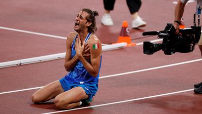 Az egyik olasz szíve beleszakadt az olimpiai aranyba, a másik Európa-csúccsal a világ leggyorsabb embere