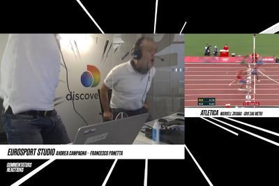 Extázisban közvetítette az olasz kommentátor honfitársa meglepő győzelmét az olimpián - videó