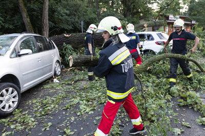 Óriási vihar pusztított Nyíregyházán - képek