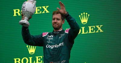 Vettelt az éjjel kizárták a Magyar Nagydíjról, oda a második helye