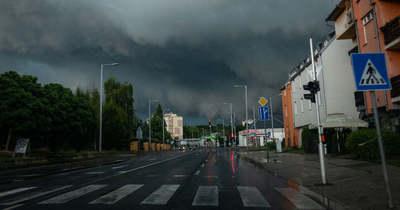 Így csapott le a vihar vasárnap Zala megyére