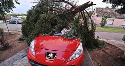 Több települést is letarolt a vihar Bács-Kiskun megyében