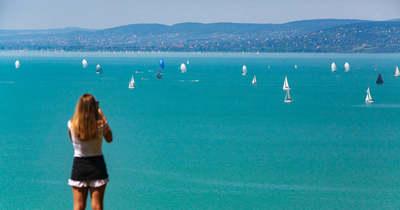Dunaújvárosban is a Balaton a Riviéra