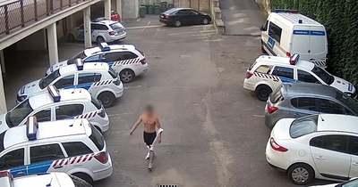 Ezt nagyon benézte! Mutatjuk, hogyan ne mássz be a VII. kerületi rendőrséghez – Videó!