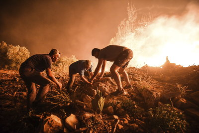 Képeken a hatalmas törökországi erdőtűzek
