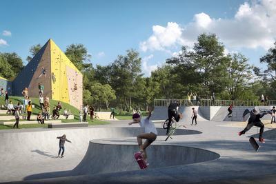 Látványos képek a lenyűgöző méretű új fővárosi közparkról - galéria