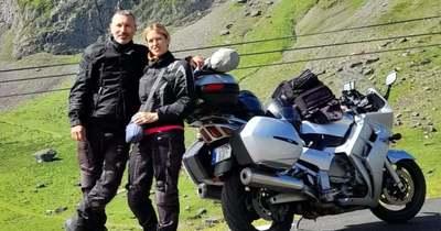 A Pireneusokban is portyáztak a szekszárdi motorosok