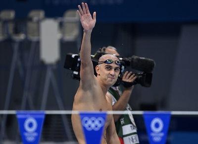10 évesen csak rajongott érte, Tokióban együtt úszott Cseh Lászlóval - fotó
