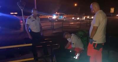 Utolsó pillanatban rántotta el a vonat elől a férfit az esztergomi rendőr